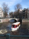 Traveling in amsterdam Royalty Free Stock Photography