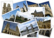 Traveling Around England Stock Photo