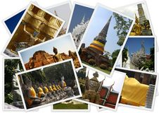Traveling around Thailand Stock Image