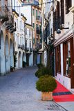 Traveling around Treviso, during winter time, Italy Stock Images