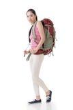 Traveling Asian woman Stock Photo