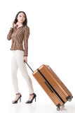 Traveling Asian woman Stock Photos