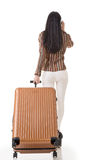 Traveling Asian woman Royalty Free Stock Photos
