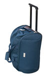 Traveling bag on wheels. Traveling bag on wheels on a white background Royalty Free Stock Images