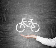 Traveling by bike Royalty Free Stock Photos
