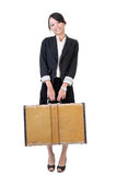 Traveling business woman Stock Images