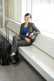 Traveling business woman Royalty Free Stock Photo