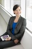Traveling business woman Stock Photo