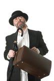 Traveling businessman Stock Photography