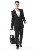 The traveling businessman Royalty Free Stock Photo