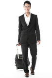The traveling businessman Royalty Free Stock Photography
