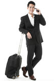 The traveling businessman Stock Image