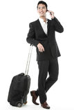 The traveling businessman Stock Photos