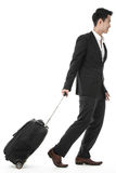 The traveling businessman Stock Photo