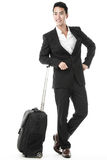 The traveling businessman Stock Images