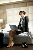 Traveling Businesswoman Stock Photo