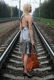 Traveling By Railroad Royalty Free Stock Images