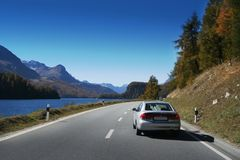 Traveling with car Royalty Free Stock Images