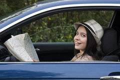 Traveling by car Royalty Free Stock Photo