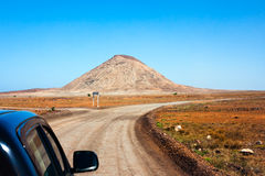 Traveling by car Stock Image