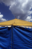 Traveling circus installed in the Brazil countryside Stock Image