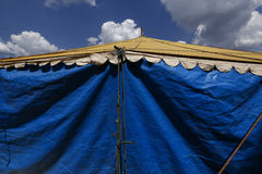 Traveling circus installed in the Brazil countryside Royalty Free Stock Photography