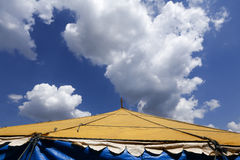 Traveling circus installed in the Brazil countryside Stock Photography