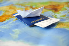 Traveling concept Stock Photography