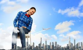 Traveling concept Royalty Free Stock Photography