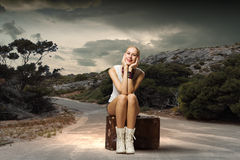 Traveling concept Royalty Free Stock Image