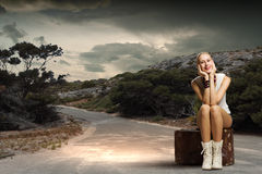 Traveling concept Royalty Free Stock Images