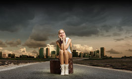 Traveling concept Royalty Free Stock Photos