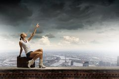 Traveling concept Stock Images