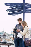 Traveling couple Royalty Free Stock Photography