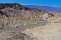 Traveling the Death Valley, USA. Travel to Death Valley National Park, California, USA Stock Photography