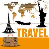 Traveling design Royalty Free Stock Photo