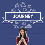 Traveling Destination Journey Holiday Concept Royalty Free Stock Photo