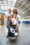 Traveling family Royalty Free Stock Photos