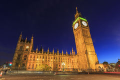 Traveling in the famous Big Ben, London, United Kingdom Stock Photography