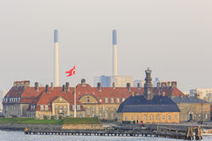 Traveling in the famous Copenhagen Stock Image
