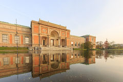 Traveling in the famous Statens Museum for Kunst, Copenhagen Royalty Free Stock Photo