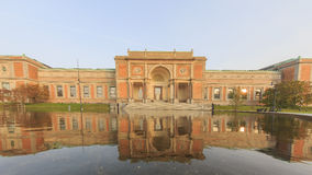 Traveling in the famous Statens Museum for Kunst, Copenhagen Royalty Free Stock Photography