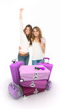 Traveling friends Royalty Free Stock Photography