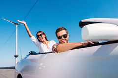 Traveling with fun. Royalty Free Stock Image