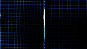Traveling Through Grids 1. Traveling Through Layers of Grid Lines stock footage
