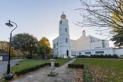 Traveling in the Hotham Park, Bognor Regis, United Kingdom. Around morning stock photography