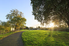 Traveling in the Hotham Park, Bognor Regis, United Kingdom Stock Photos