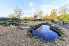 Traveling in the Hotham Park, Bognor Regis, United Kingdom Stock Image