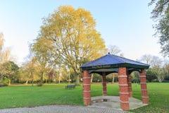 Traveling in the Hotham Park, Bognor Regis, United Kingdom. Around morning Royalty Free Stock Photography