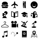 Traveling icons for Web and Mobile App. Traveling icons for Web and Mobile App Royalty Free Stock Photo